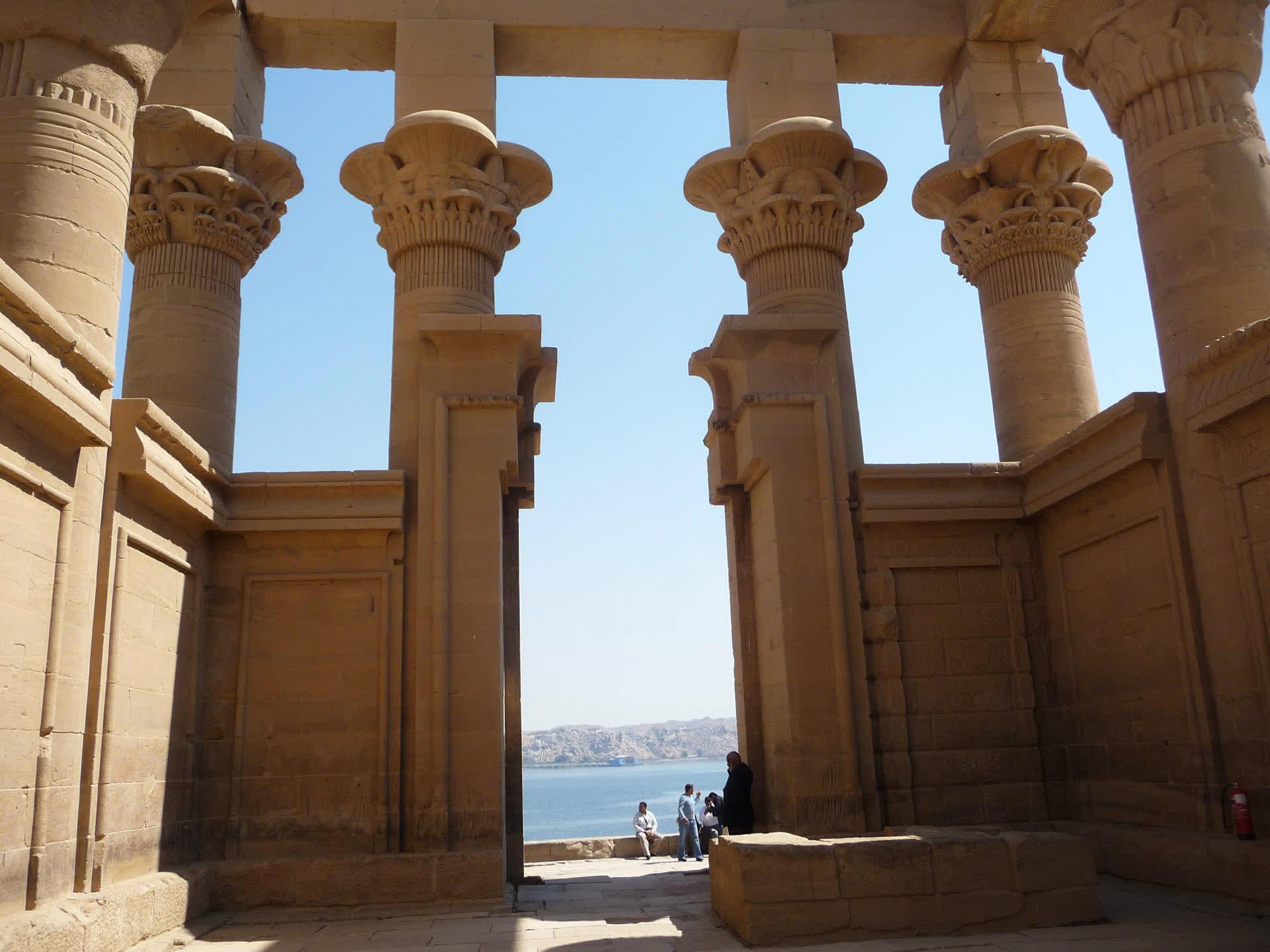 Dahabey in Aswan